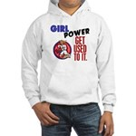 Girl Power 2 Karate Hooded Sweatshirt
