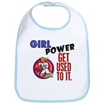 Girl Power 2 Karate Bib