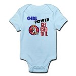 Girl Power 2 Karate Infant Bodysuit