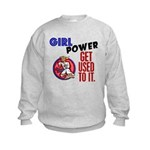 Girl Power 2 Karate Kids Sweatshirt