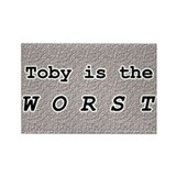Toby 1.0 Rectangle Magnet