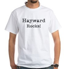 Hayward rocks White T-Shirt