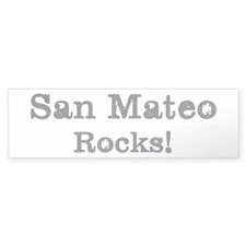San Mateo rocks Bumper Sticker (10 pk)
