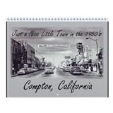 Cute Compton city Wall Calendar