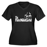 The Patel Motel Cartel Women's Plus Size V-Neck Da