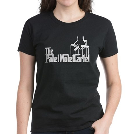 The Patel Motel Cartel Women's Dark T-Shirt