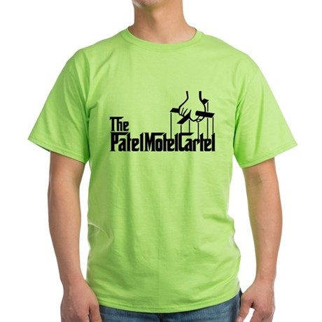 The Patel Motel Cartel Green T-Shirt
