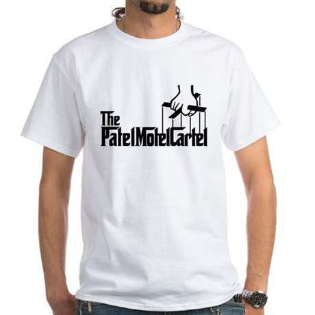 The Patel Motel Cartel White T-Shirt