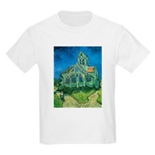 Van Gogh Church T-Shirt