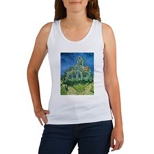 Van Gogh Church Women's Tank Top