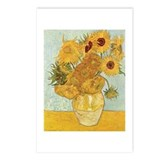 Van Gogh Sunflowers Postcards (Package of 8)