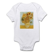 Van Gogh Sunflowers Infant Bodysuit