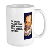 "Cervantes ""Greatest Foes"" Mug"
