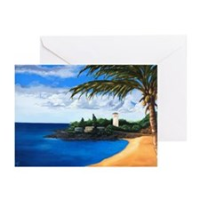 Tranquil Bay (no title) Greeting Cards (Pk of 10)