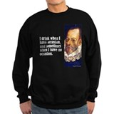 "Cervantes ""I Drink"" Sweatshirt"