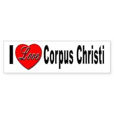 I Love Corpus Christi Bumper Sticker (10 pk)