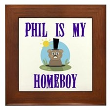 Homeboy Groundhog Day Framed Tile