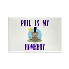 Homeboy Groundhog Day Rectangle Magnet