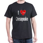 I Love Chesapeake (Front) Dark T-Shirt