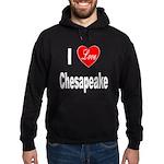 I Love Chesapeake (Front) Hoodie (dark)