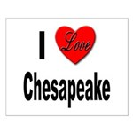 I Love Chesapeake Small Poster