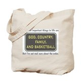 Basketball Priority - Tote Bag