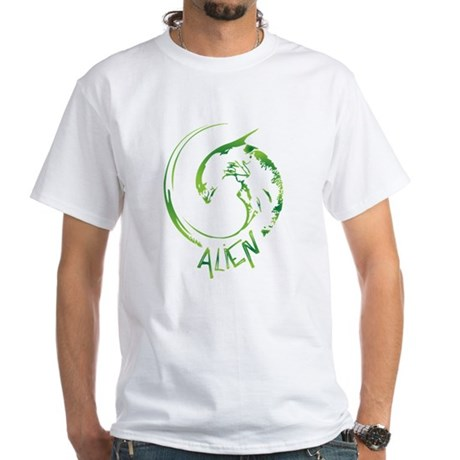 The Alien White T-Shirt