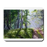 Green Lane #1 Mousepad
