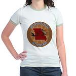 Missouri Birder Jr. Ringer T-Shirt