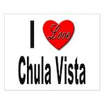 I Love Chula Vista Small Poster