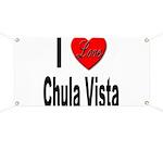 I Love Chula Vista Banner