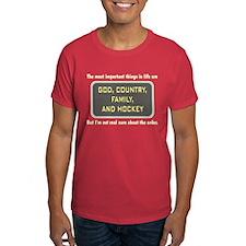 Hockey Priority - T-Shirt