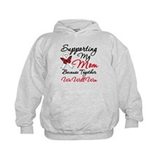 Cancer Support Mom Hoodie