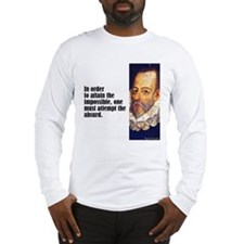 "Cervantes ""Absurd"" Long Sleeve T-Shirt"