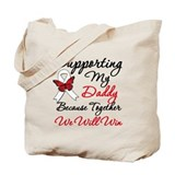 Cancer Support Daddy Tote Bag
