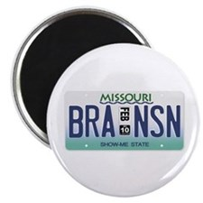 Branson License Plate Magnet