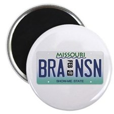 "Branson License Plate 2.25"" Magnet (100 pack)"
