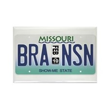 Branson License Plate Rectangle Magnet