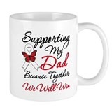 Cancer Support Dad Coffee Mug