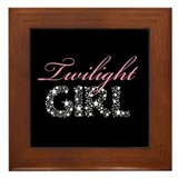Funny Twilight Framed Tile