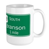 65 South to Branson, Missouri Coffee Mug