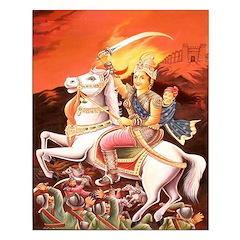 Jhansi Rebel Queen Unframed Print