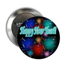 "Happy New Year!! 2.25"" Button"