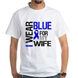 I Wear Blue Wife  Shirt