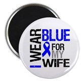 I Wear Blue Wife Magnet