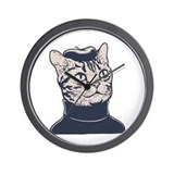 Sophisti-Cat Wall Clock