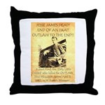 Robert Ford Throw Pillow
