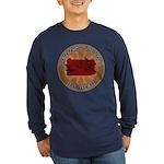 Pennsylvania Birder Long Sleeve Dark T-Shirt