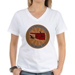 Oklahoma Birder Women's V-Neck T-Shirt