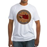 Oklahoma Birder Fitted T-Shirt
